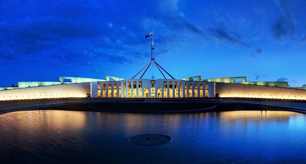 Australia-ParliamentHouse-Dusk