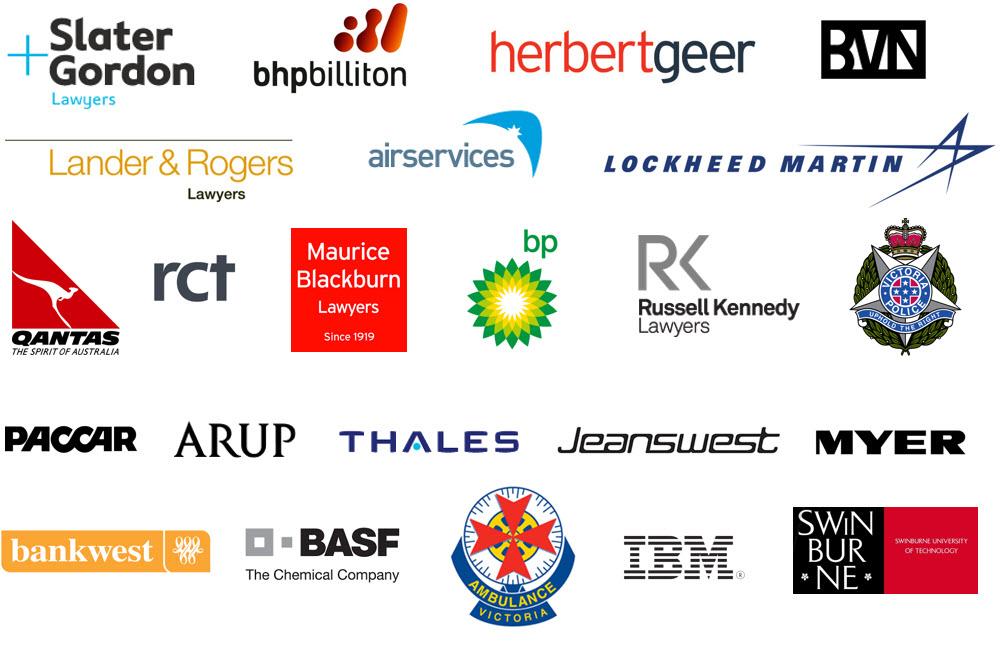 Ergonomics Client Logos