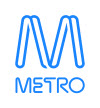Metro Trains Logo bright blue