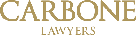 Carbone Lawyers Logo gold