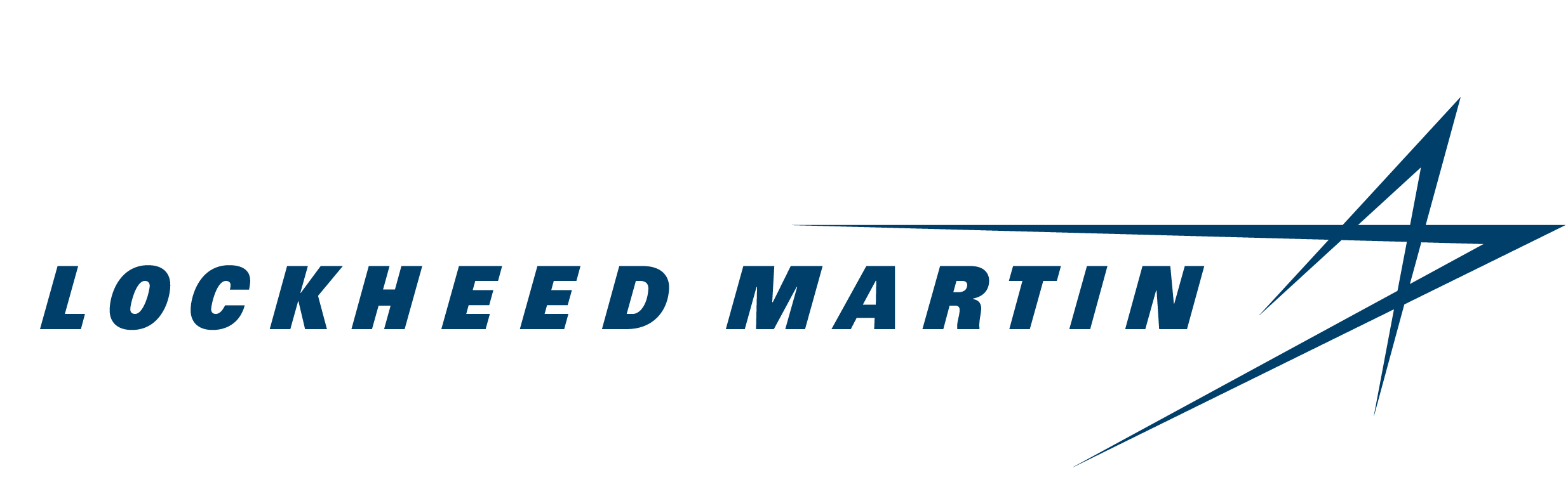 Lockheed Martin Logo dark blue