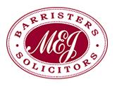 MEJ Logo burgundy