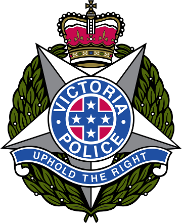 Victoria Police Logo multi coloured badge